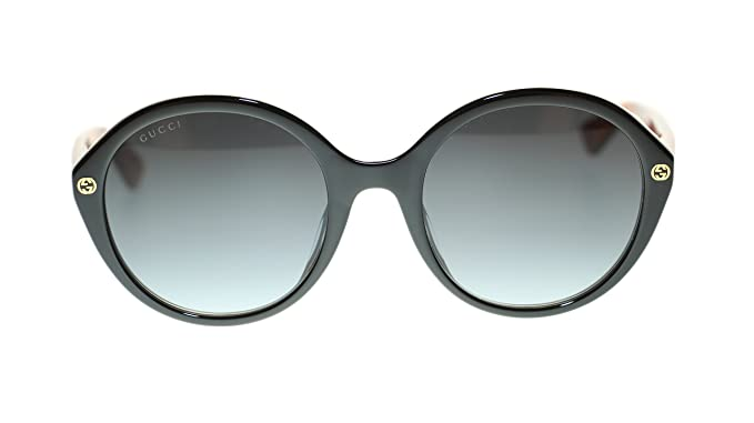 99c78b04eab2 Image Unavailable. Image not available for. Colour: Gucci Women Oval  Sunglasses GG0023S 003 Havana ...