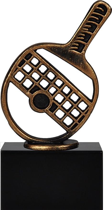Trofeo Tenis de Mesa Incluye Personalización, 17 cm: Amazon.es ...