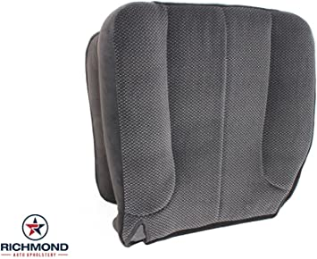 2003 Dodge Ram 1500 Laramie DRIVER Side Bottom Leather Seat Cover Dark Gray