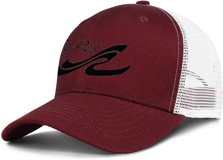 Snapback Men Womens Adjustable Rock Cap Baseball Mesh Hats Sea-Ray-Logo