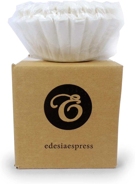 EDESIA ESPRESS - Pack de 100 filtros de papel para café - Para ...