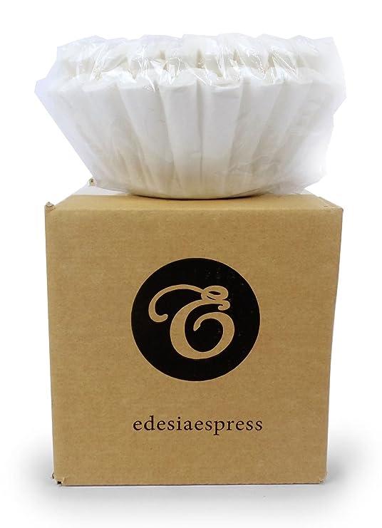EDESIA ESPRESS - Pack de 100 filtros de papel para café - Para cafeteras de uso comercial - 90/240 mm