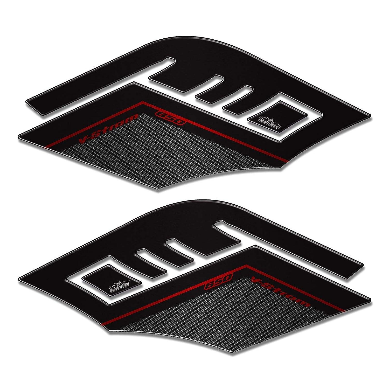 Adesivi 3d Protezioni Laterali 02 Compatibili Con Suzuki V-strom 650 2017-18