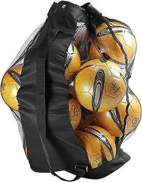 LONTG - Bolsa de Malla Extra Grande para balones de fútbol ...