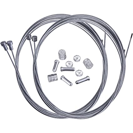 Amazon Com Hotop Road Bike Brake Cable Bicycle Gear Cable Wire And
