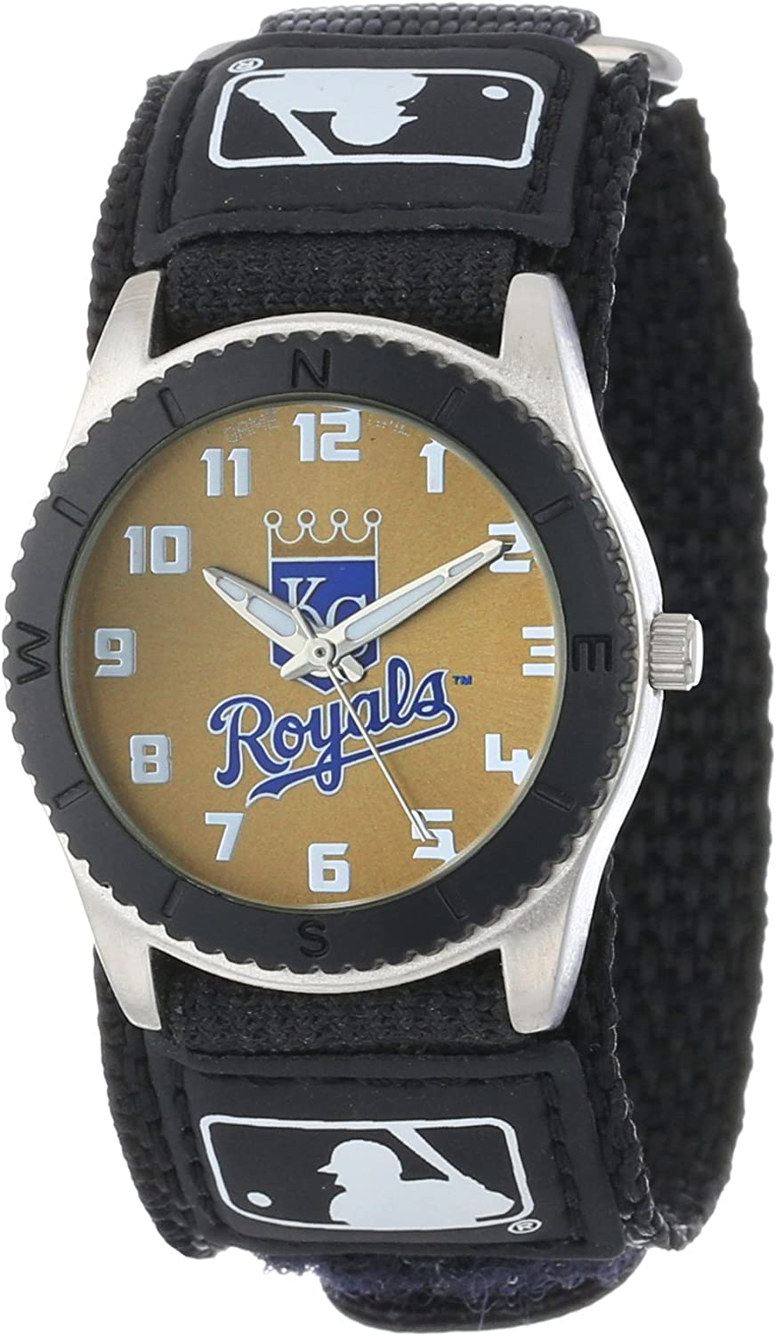 Game Time Youth MLB Rookie Black Watch - Kansas City Royals