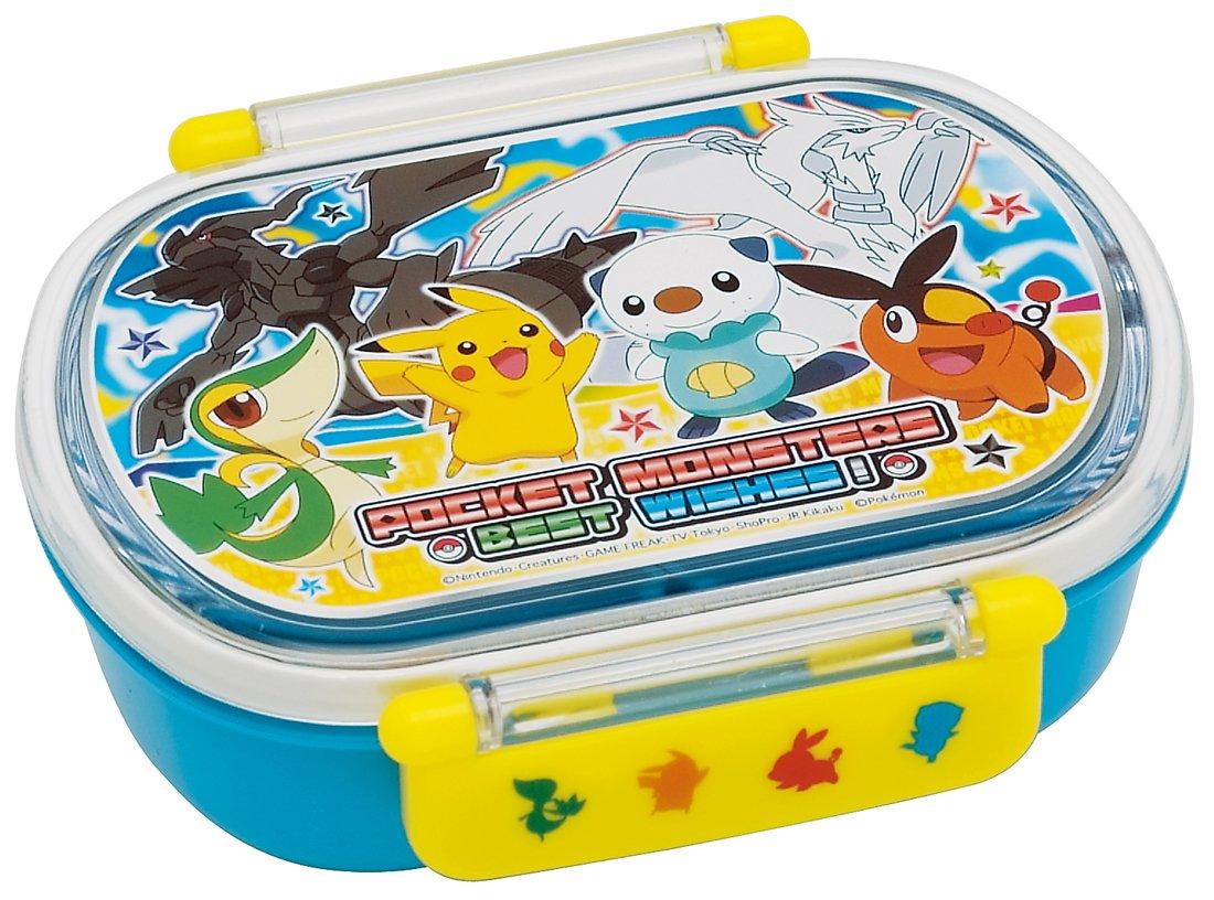 Pokemon Bento Oval Best Wishes Lunch Box - Oshawott Snivy Tepig by Skater by Skater
