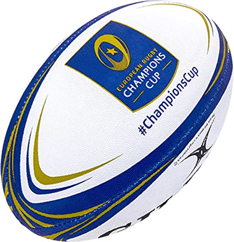 Gilbert Matchxv Champions Cup - Balón de Rugby (tamaño 5): Amazon ...