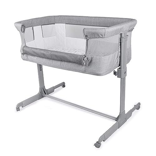 TCBunny 2-in-1 Baby Bassinet Bedside Sleeper