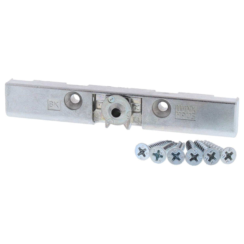 Winkhaus BK 1793250 Loqueteau pour porte de terrasse lot de vis KL-FR 6 ToniTec/® fen/être Verrouillage pare-vent avec douille porte de balcon