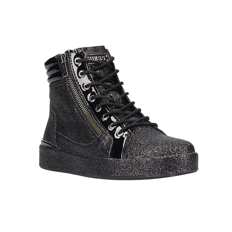 Guess Vanda, Zapatillas Altas para Mujer 37 EU|Negro (Black Black)