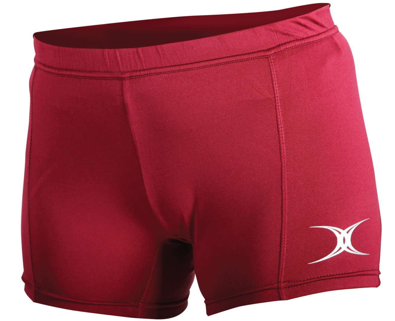 Gilbert Eclipse II Netball Shorts (Maroon Medium)