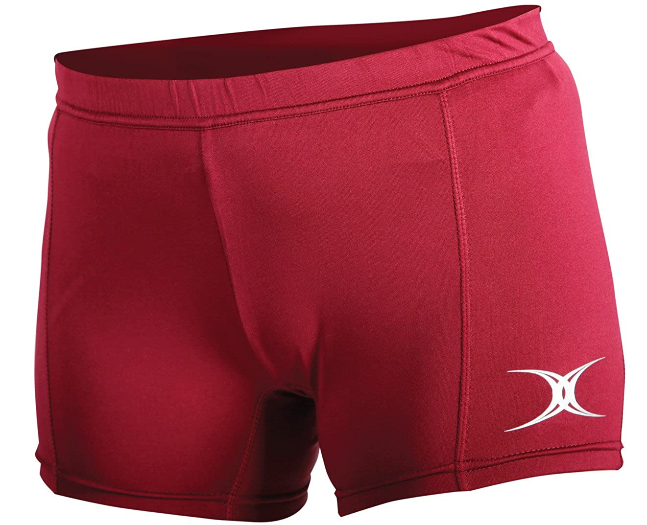 Gilbert Eclipse II Netball Shorts (Maroon Large)