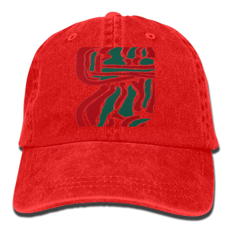 SHUANGRENDE Men Women Camp Hair Lakeside Dock Cotton Denim Baseball Hat Adjustable Street Rapper Hat