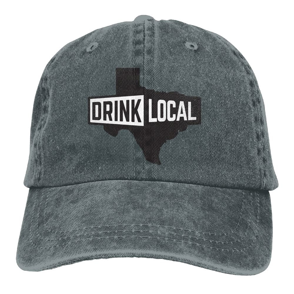 729ea80ae2d Gorgeously Drink Local Denim Baseball Caps Hat Adjustable Cotton Sport  Strap Cap For Men Women - Grey - One Size  Amazon.co.uk  Clothing