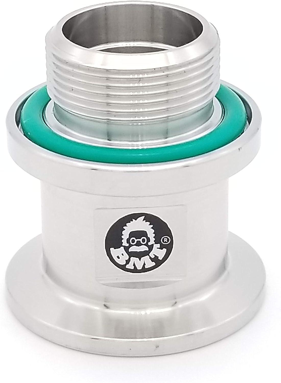 "1393G KF25 Welch Vacuum adapter 1""-20 Threads fits Pump Models 1402 1405 1376"