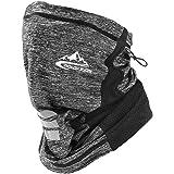 Adjustable Neck Gaiter Face Mask Scarf Bandana Dust UV Sun Protection for Men Women for Running Hiking Fishing Cycling
