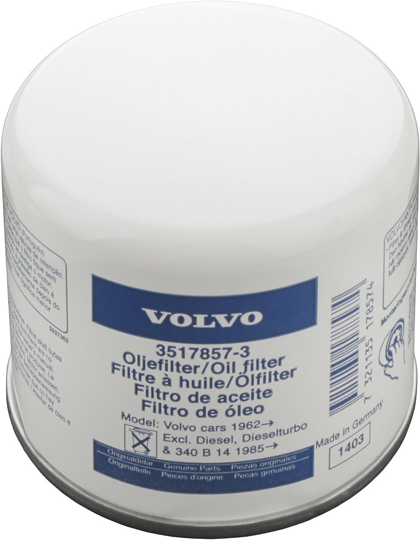 Volvo Original Ölfilter Ref Nr 3517857 Passend Für Volvo 120 130 220 140 164 200 700 850 900 C70 2005 P1800 Pv P210 S40 2004 V40 S70 V70 2000 S90 V90 Auto