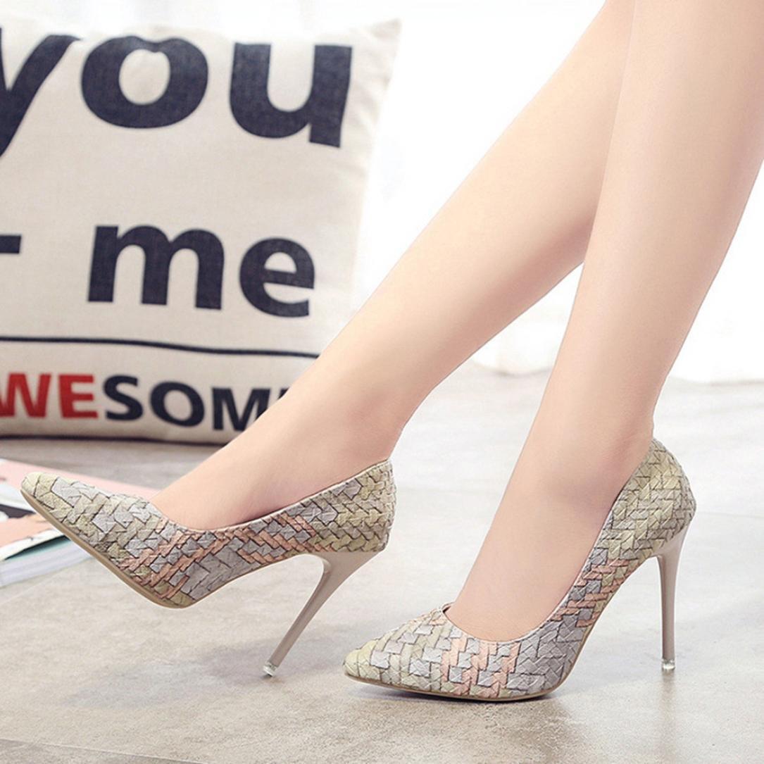 Liquidación! Tacones de mujer Covermason Moda tacones finos Zapatos ...