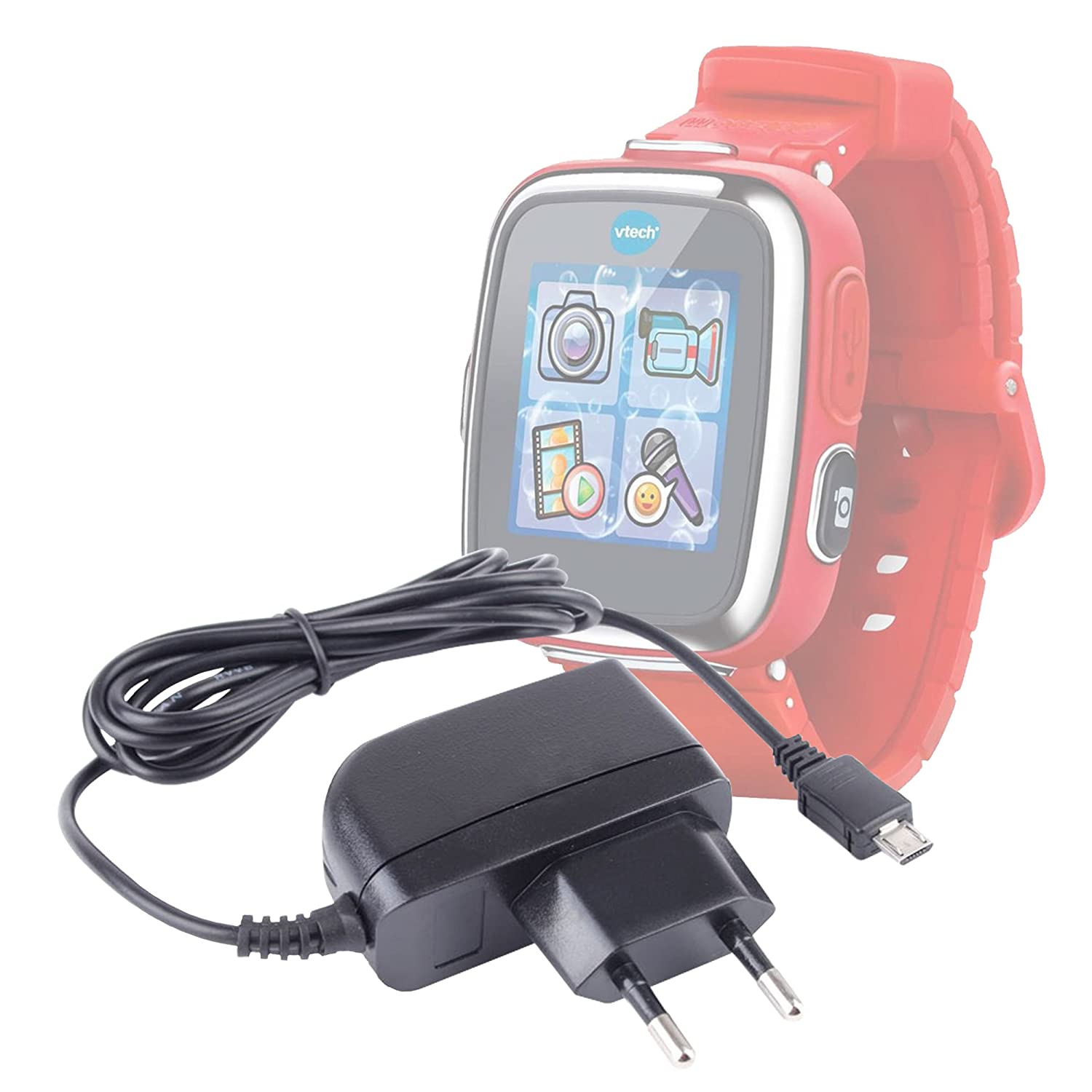 Cargador de pared compatible con VTech Kidizoom Smartwatch Connect ...