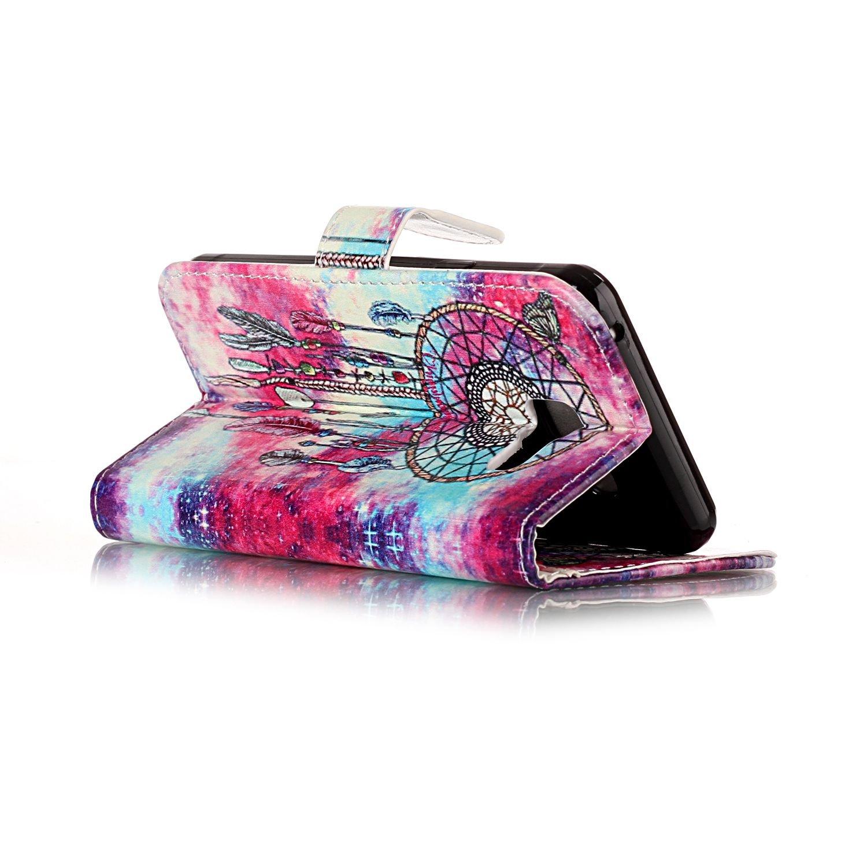 Karomenic kompatibel mit Samsung Galaxy A5 2016 PU Leder H/ülle Marmor Blume Muster Handyh/ülle Brieftasche Silikon TPU Schutzh/ülle Klapph/ülle Ledertasche Wallet Flip Case Etui,Ros/égold