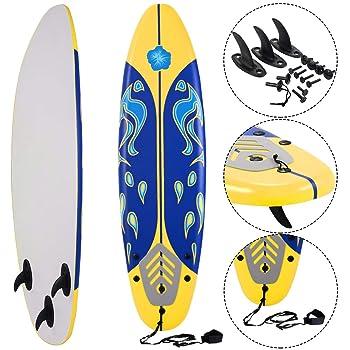 Giantex 6' Foam Surfboard