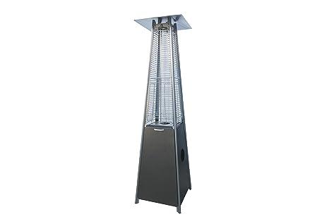 Soleil Jardin - Calefactor para exterior, a gas, diseño de pirá