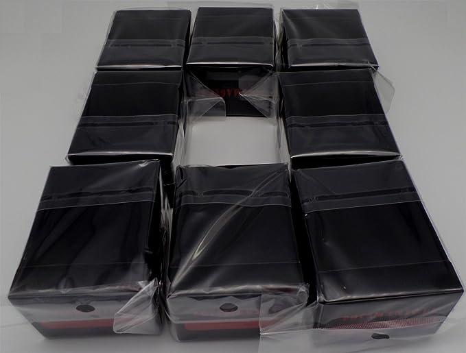 docsmagic.de 8 x Deck Box Black + Card Divider - Caja Negra - PKM ...