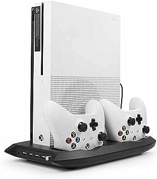 Xbox One S Soporte Vertical con Ventilador de Enfriamiento ...