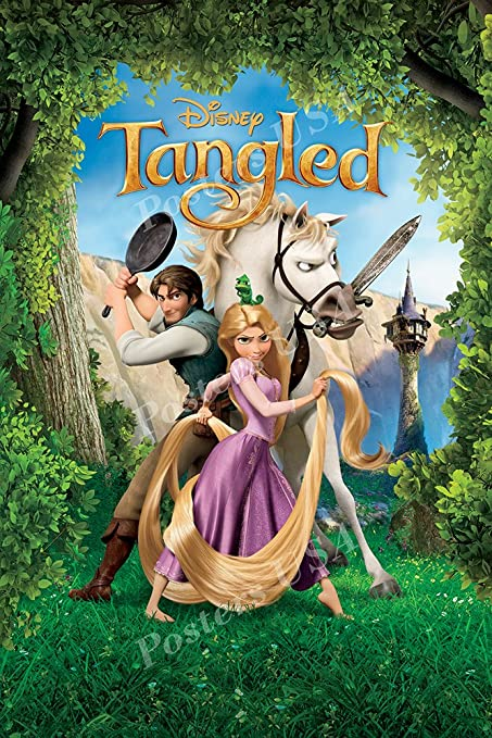 Image result for tangled poster