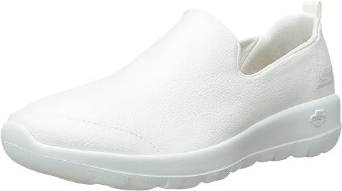 skechers go walk white