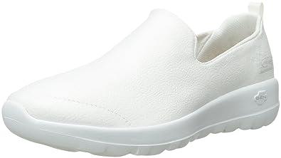 702efd01c6 Skechers Performance Women's Go Walk Joy-15612 Sneaker, White, 6.5 M ...