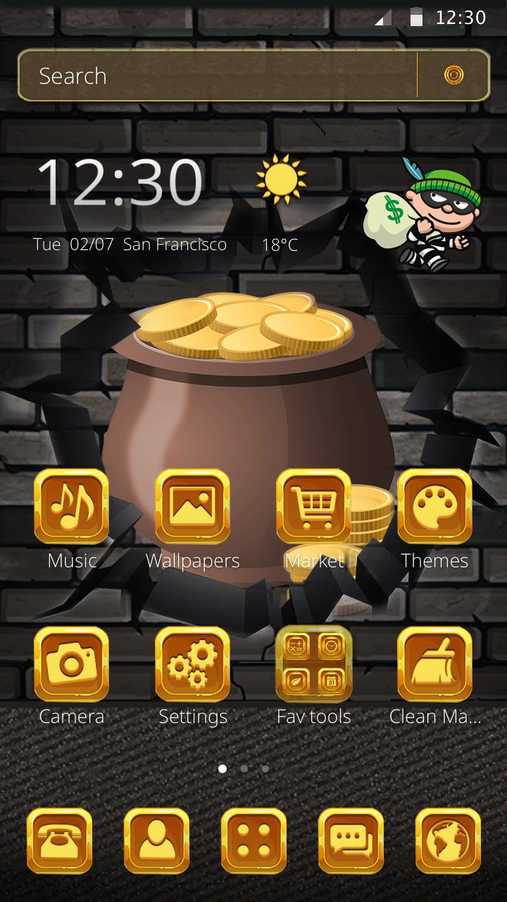 Bobo Robbery game 2D Theme: Amazon.es: Appstore para Android