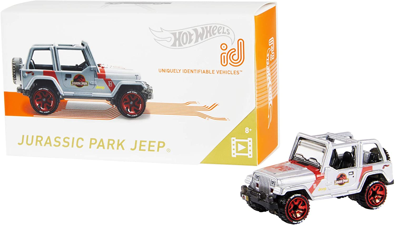 Hot Wheels id Jurassic Park Jeep {Screen Time}