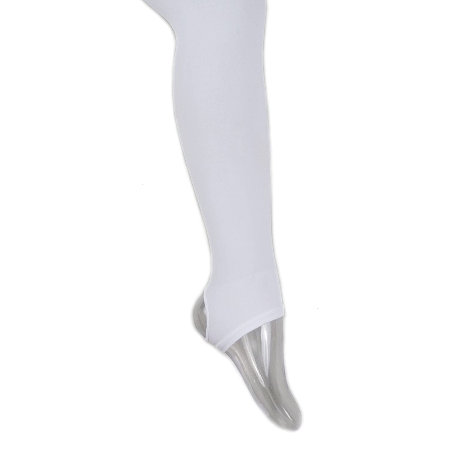 cf882b0231dae Amazon.com: wenchoice White Footless Tights Girls: Clothing