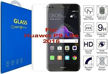 Huawei P9 Lite (2016) - Curvo 3D Cristal Templado Protector de ...