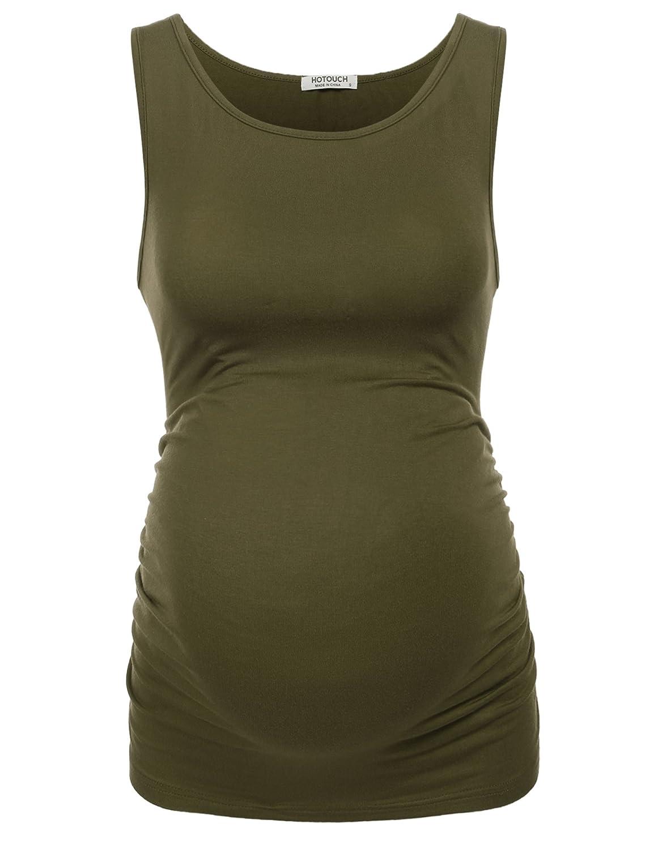Unibelle Top de Maternité en Coton Débardeur Femme Grossesse Vêtement de  Maternité TYK000207 2ad14499ddf
