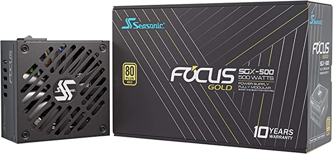 Seasonic Focus Sgx 500 Vollmodulares Pc Netzteil 80plus Computer Zubehör