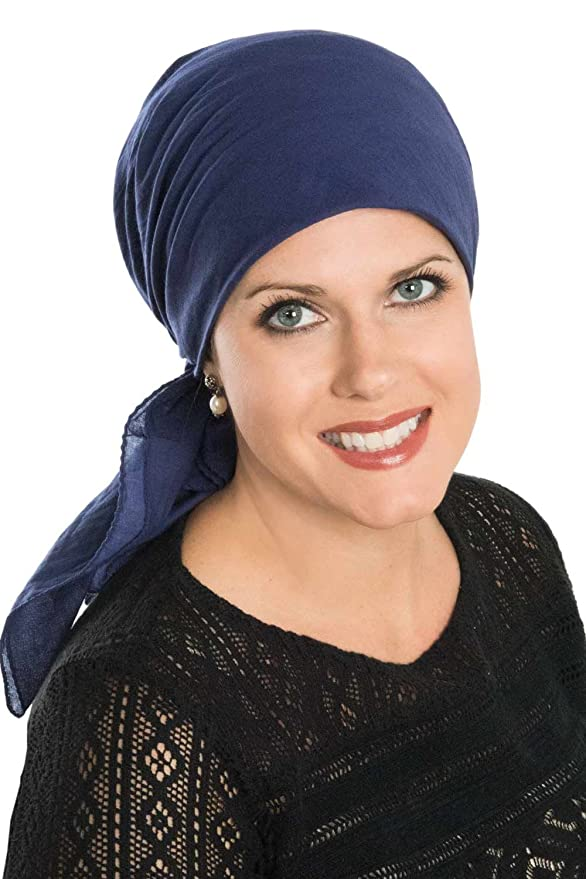 1920s Flapper Headbands 30.5 Inch Square Solid Cotton Head Scarves for Cancer Patients $16.78 AT vintagedancer.com