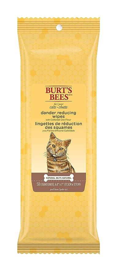 1fce807b0c2 Amazon.com   Burt s Bees For Cats Natural Dander Reducing Wipes ...