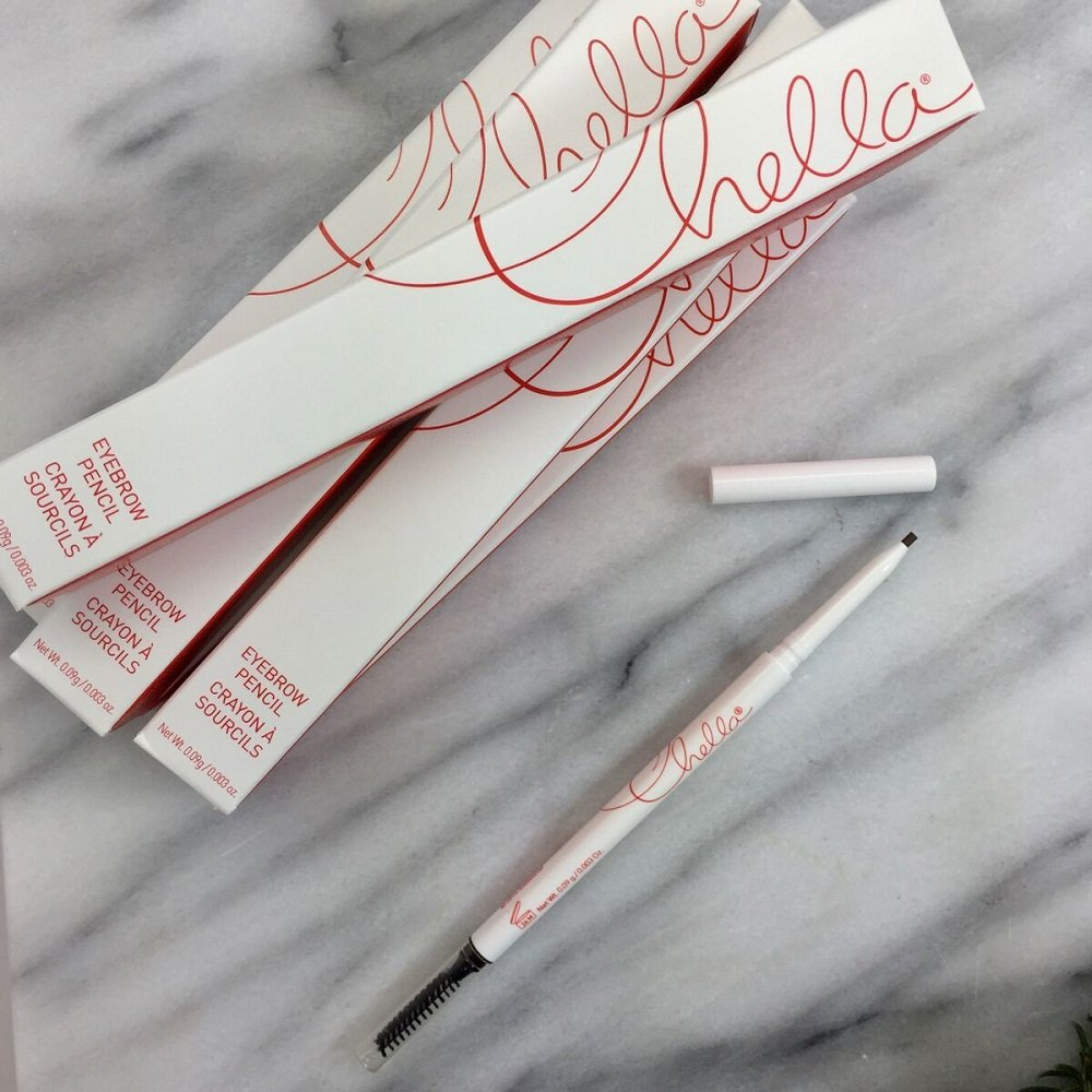 """Tantalizing Taupe Eyebrow Pencil with Spoolie (eyebrow brush), Everything You Need to """"Wow Your Brows"""", The ONLY Pencil you will EVER Buy, One Pencil, By Chella by Chella (Image #6)"""