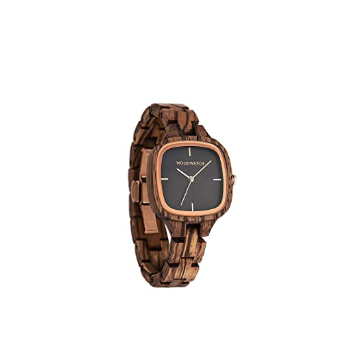 Madera Reloj mujer | City of Lights | Relojes de madera natural | la Wood Watch Relojes de madera oficial: Amazon.es: Relojes