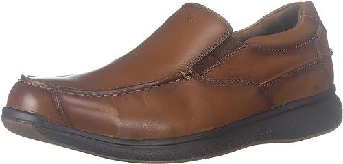 Men/'s Florsheim Steel Toe Slip-On Boat Shoe FS2325