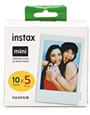 Instax mini film 50 shot pack (Packing may vary)
