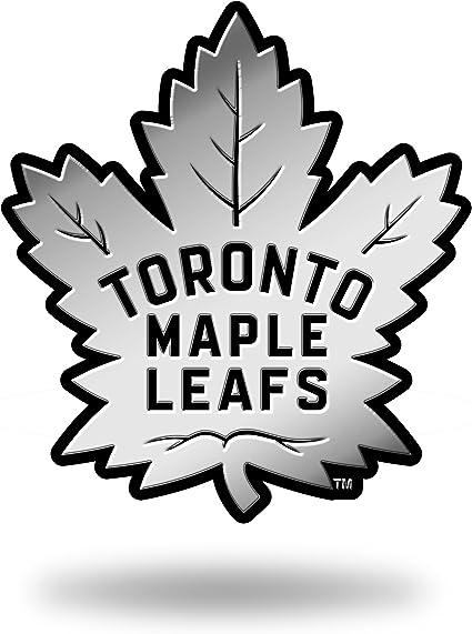 Nhl Rico Industries Chrome Finished Auto Emblem 3d Sticker Toronto Maple Leafs Sport Freizeit