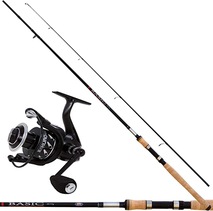 linea-effe Kit Spinning caña Basic 240 cm + Carrete Kuro 4000 ...