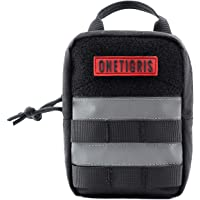 OneTigris Canine EDC - Bolsa reflectante vertical MOLLE (negro)