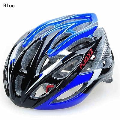 Helmet TOYM- Imitation VTT casque de vélo intégralement moulé équipement vélo d'équitation en fibre de carbone légère