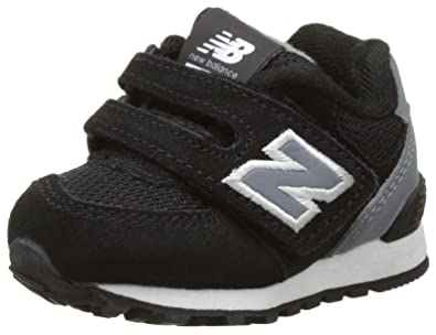 2cedf5bc7a827 New Balance Unisex Kids' 574 Hook and Loop High Visibility Low-Top ...