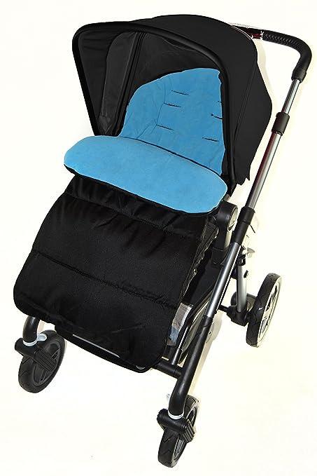 Saco cubrepiés de Cosy Toes compatible con carrito Hauck océano azul: Amazon.es: Bebé